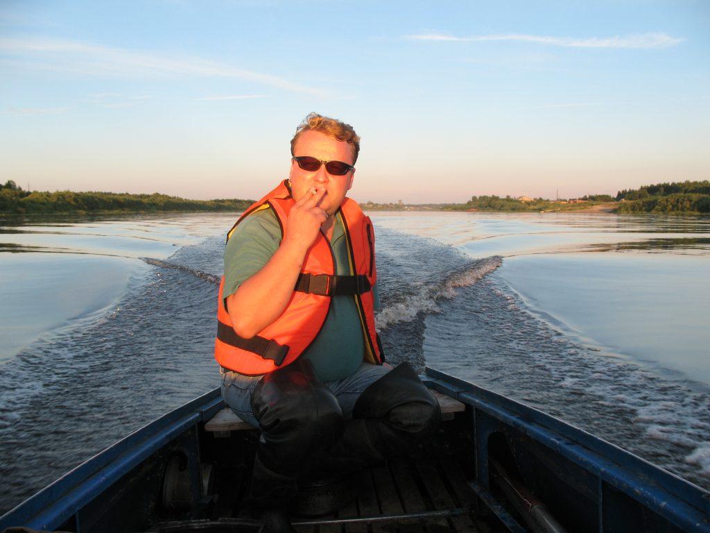 Рыбалка на сухоне